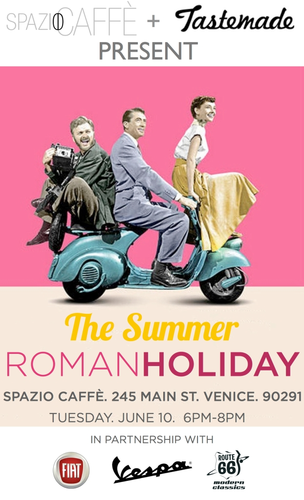Roman Holiday flyer Spazio Venice